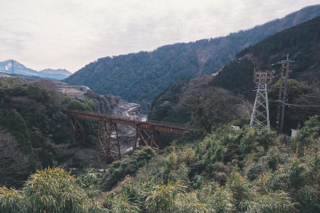 立野ダム展望所