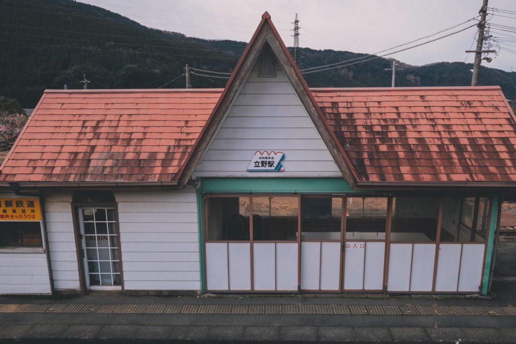 立野駅 駅舎