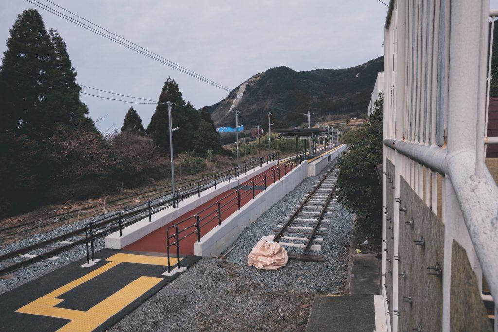 立野駅 ホーム